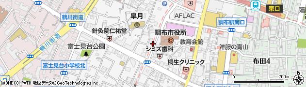 東京都調布市小島町周辺の地図