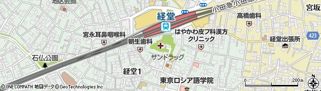 福昌寺周辺の地図