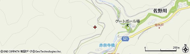 神奈川県相模原市緑区佐野川周辺の地図