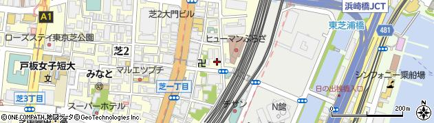 マツラビル周辺の地図