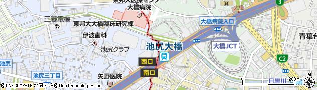 東京都目黒区大橋2丁目24周辺の地図