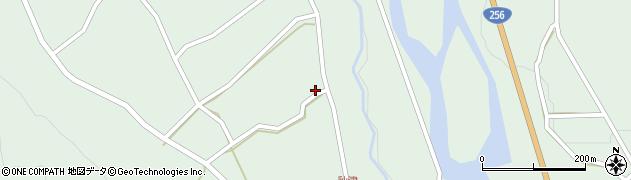 岐阜県中津川市付知町(米屋)周辺の地図