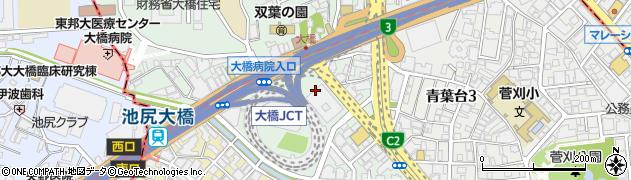 東京都目黒区大橋1丁目5周辺の地図