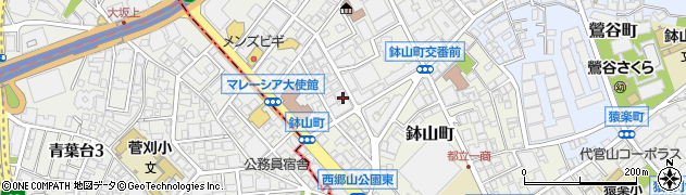 東京都渋谷区南平台町19-8周辺の地図