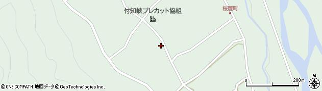 岐阜県中津川市付知町(菓子上)周辺の地図