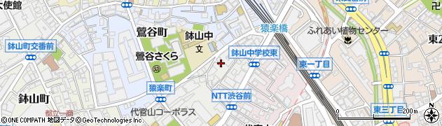 東京都渋谷区猿楽町5-17周辺の地図