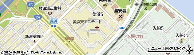 美浜東エステート周辺の地図
