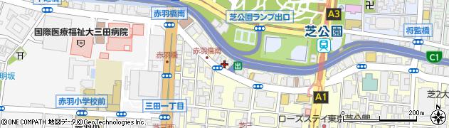 マンション芝公園周辺の地図