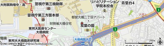 東京都目黒区大橋2丁目16周辺の地図
