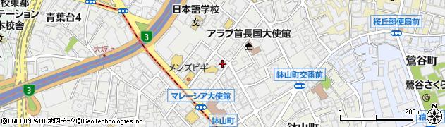 東京都渋谷区南平台町18-4周辺の地図