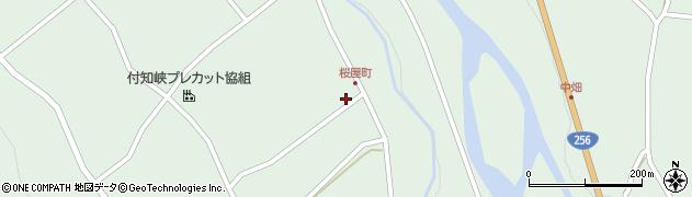 岐阜県中津川市付知町(桜屋)周辺の地図