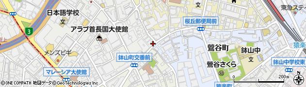 東京都渋谷区南平台町7-3周辺の地図