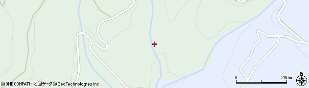 岐阜県中津川市付知町(矢平)周辺の地図