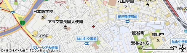 東京都渋谷区南平台町7-1周辺の地図