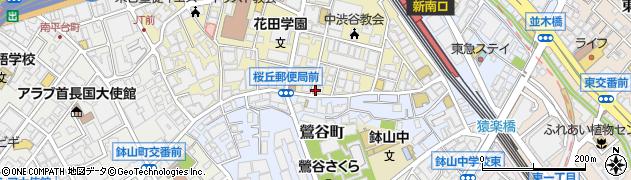 東京都渋谷区桜丘町11-6周辺の地図