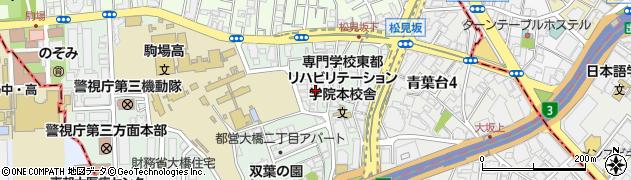 東京都目黒区大橋周辺の地図