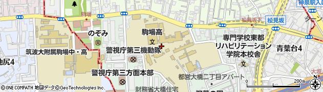 東京都目黒区大橋2丁目18周辺の地図