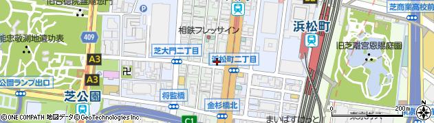 茅ヶ崎海ぶね浜松町店周辺の地図