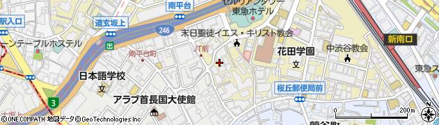 東京都渋谷区桜丘町29-31周辺の地図
