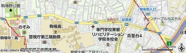 東京都目黒区大橋2丁目9周辺の地図