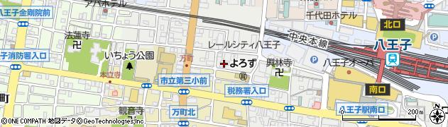 長心寺周辺の地図