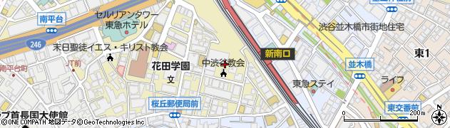 東京都渋谷区桜丘町8-17周辺の地図