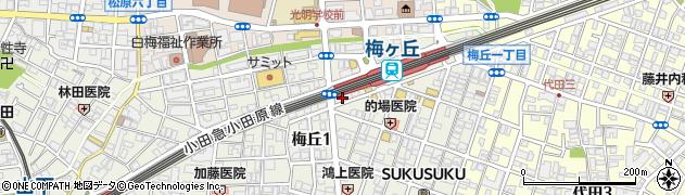 洋風料理店TANAKA周辺の地図