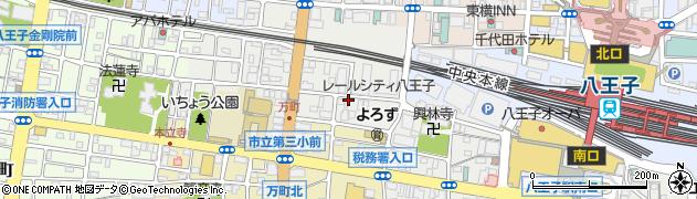東京都八王子市寺町周辺の地図
