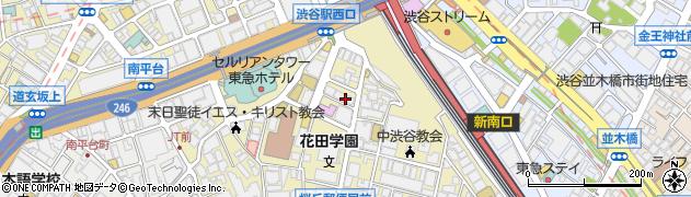 東京都渋谷区桜丘町17-5周辺の地図