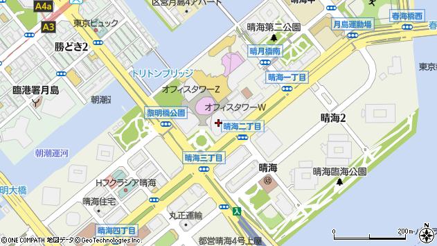 東京 都 中央 区 勝どき 郵便 番号