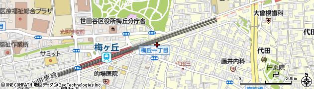 株式会社マルコシ 世田谷店周辺の地図