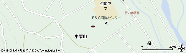 岐阜県中津川市付知町(小栗山)周辺の地図