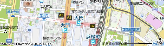 東京都港区浜松町周辺の地図