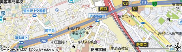 東京都渋谷区桜丘町25-17周辺の地図