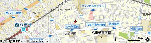 マルカ蕎麦店周辺の地図