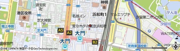 串八珍 浜松町2号店周辺の地図