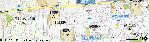 東京テラス周辺の地図