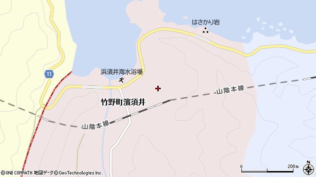 〒669-6217 兵庫県豊岡市竹野町浜須井の地図