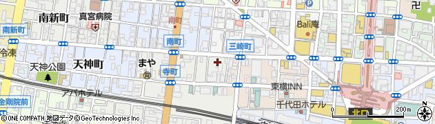 CHANCE周辺の地図