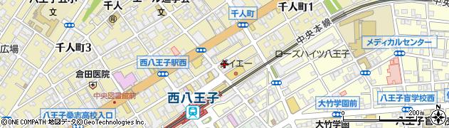 そめい周辺の地図