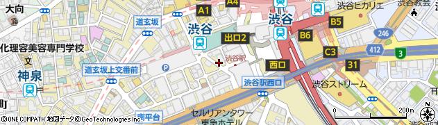 ひろかつ周辺の地図