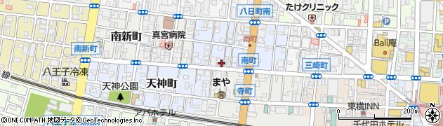 東京都八王子市南町周辺の地図