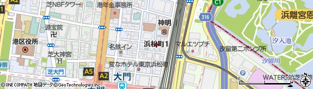 寿司与周辺の地図