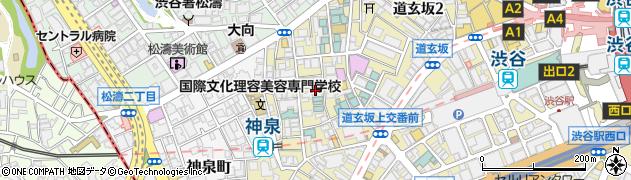 東京都渋谷区円山町7-15周辺の地図
