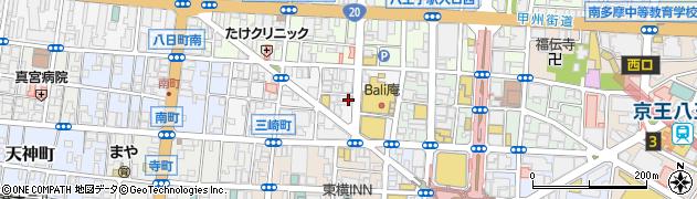 IKKI周辺の地図