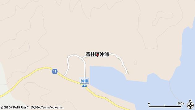 〒669-6433 兵庫県美方郡香美町香住区沖浦の地図