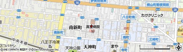 伝法院周辺の地図