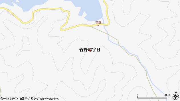 〒669-6202 兵庫県豊岡市竹野町宇日の地図