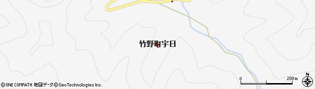 兵庫県豊岡市竹野町宇日周辺の地図
