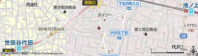 うなぎの竹若周辺の地図
